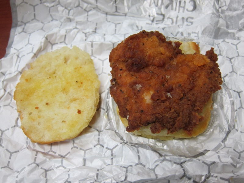Mcdonalds Chicken Biscuit Spicy chicken biscuit