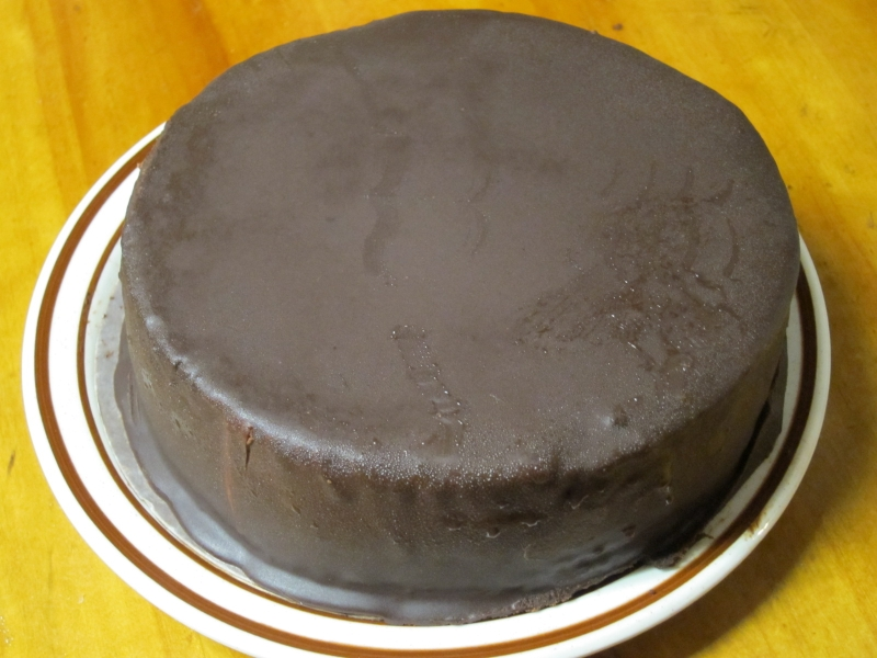 Chocolate Ganache Torte Recipe — Dishmaps