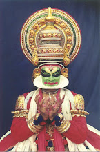 Kathakali Actor, Mudra of the Lotus