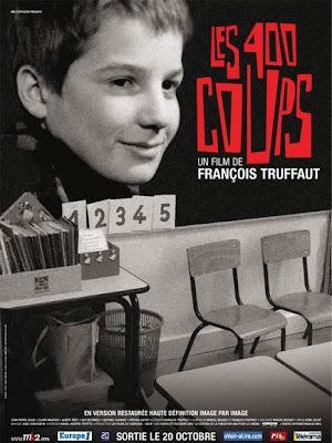 Os Quatrocentos Golpes, de François Truffaut