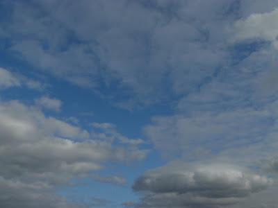 O céu do Porto