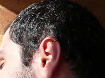 Piercing avec Betadine