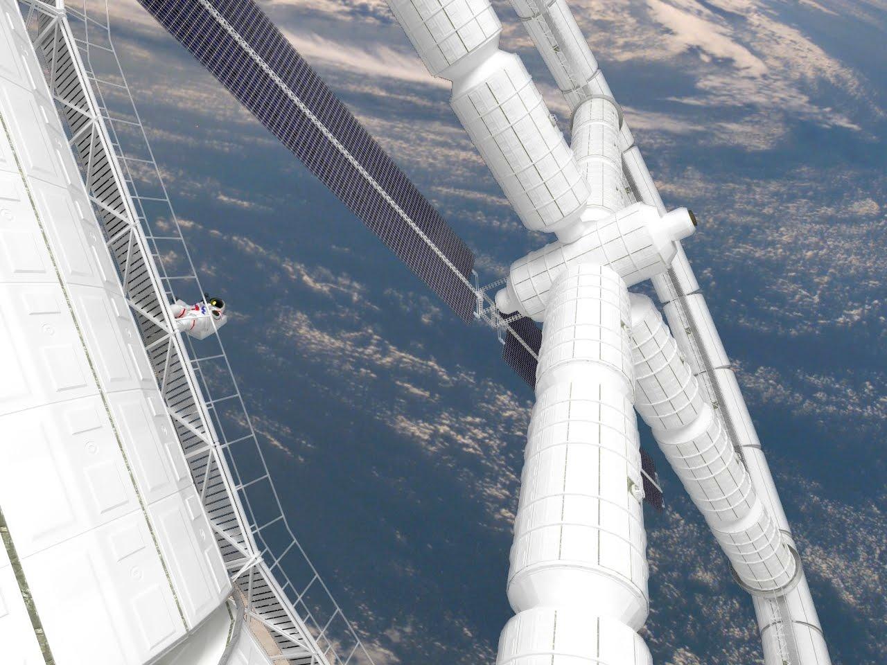 multiple torus space station - photo #5