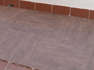 Aljavera reformas del hogar soler as de gres imitacion a - Soleria imitacion madera ...