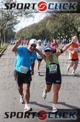 Eu e o Fernando na Mizuno 16 km