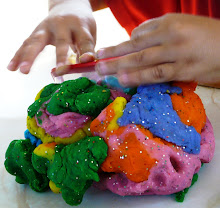 Psychedelic Play Dough