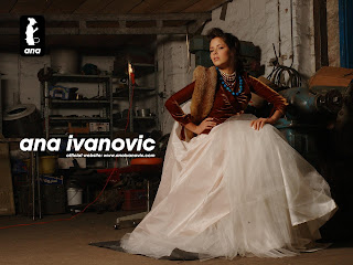 Ana Ivanovic photoshoot wallpaper