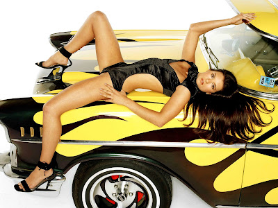 Danica Patrick in Top Woman Race Car Driver Model Photo Shoot Session Wallpapers