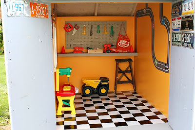 Cutest Little Things A Little Boy 39 S Playhouse Revealed