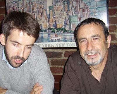 Julien (Marianne2.fr) et Jean Véronis