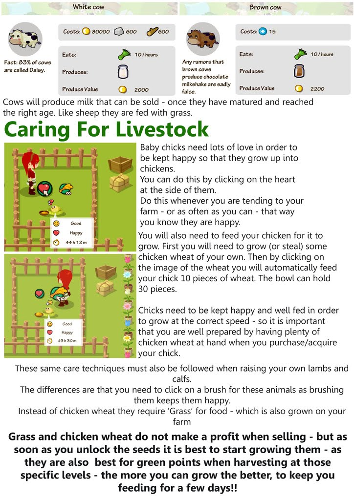 Facebook Country Story - Chapter 20: Livestock