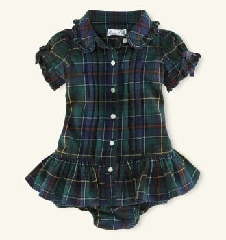 One of the most unique and sophisticated baby dresses I have ever seen.