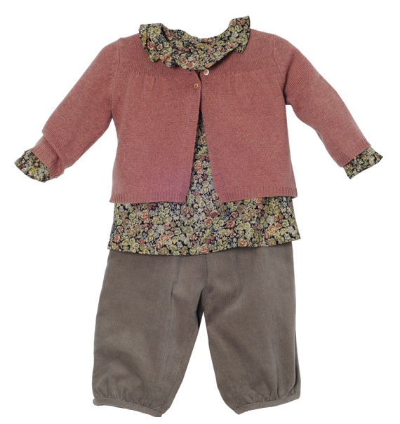 Designer baby look as chic as the french Baby clothing designers