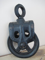 Old Barn Pulley