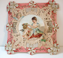 Beautiful Antique Valentine Card