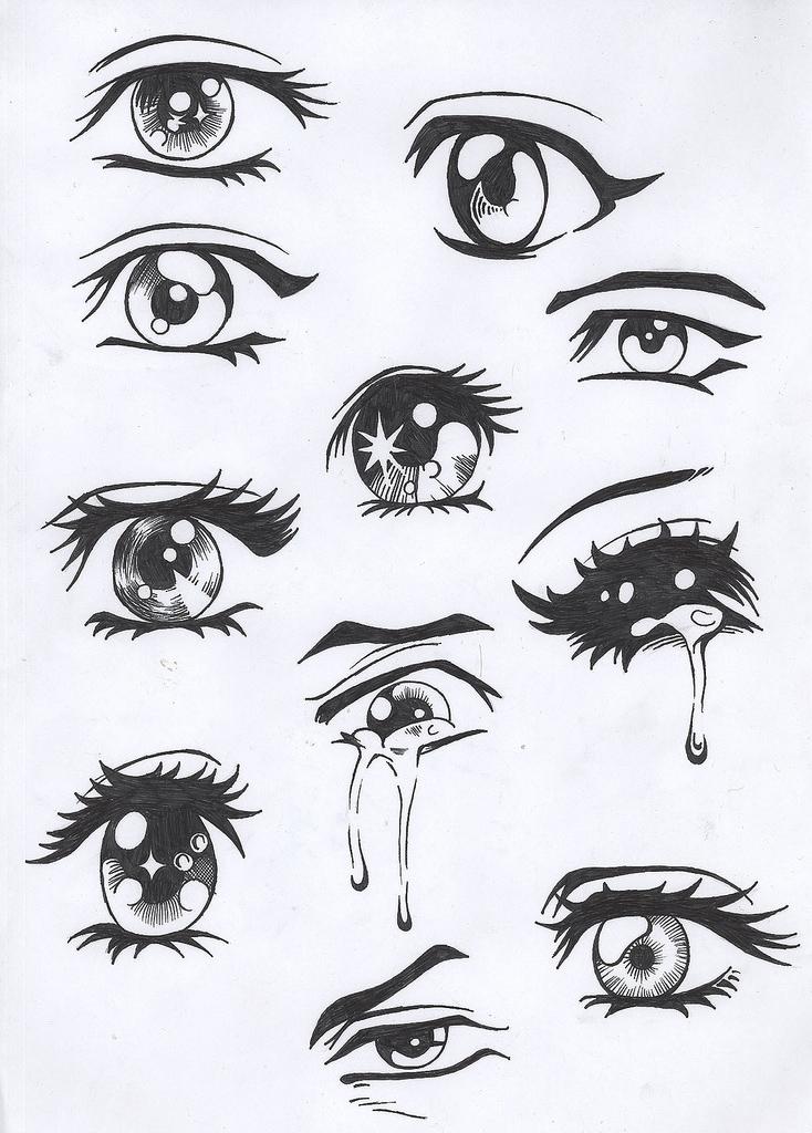 Jack Sparrow Tattoo: anime boy eyes
