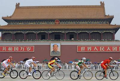 Beijing 2008 - Ciclismo - Tiananmen