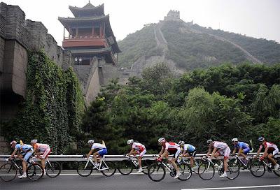 Beijing 2008 - Ciclismo - Gran Muralla