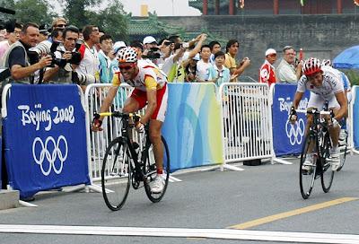 Beijing 2008 - Samuel Sánchez, medalla de oro
