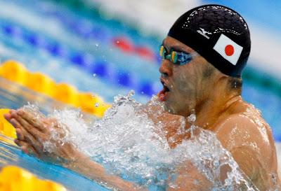 Kosuke Kitajima, oro en los 200 metros braza