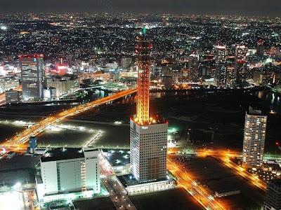 Yokohama de noche