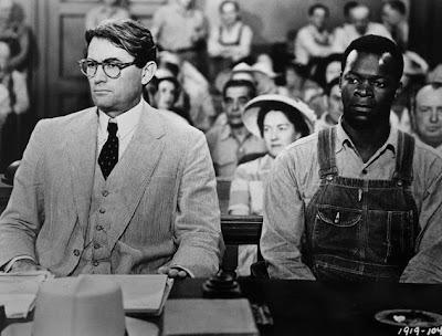 Gregory Peck y Brock Peters en Matar a un Ruiseñor (To Kill a Mockingbird, 1962)