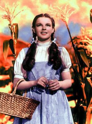 Judy Garland en El Mago de Oz (1939)