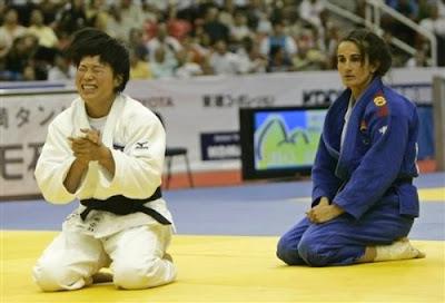 Rio de Janeiro 2007 - Combate entre Kye Sun-Hui e Isabel Fernández