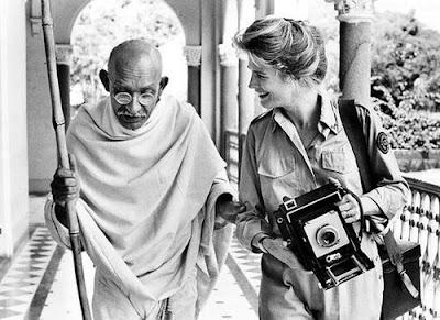 Gandhi (1982), Ben Kingsley y Candice Bergen
