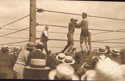 Jack Johnson - La Habana, 1915