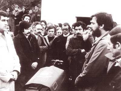 Funeral de Juan Muñiz Zapico, Juanín