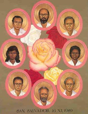 Asesinados en El Salvador, 16 de Noviembre de 1989
