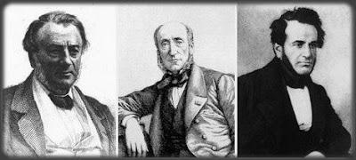 Prosper Enfantin, Michel Chevalier y Olinde Rodrigues