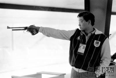Los Angeles 1984 - Xu Haifeng, oro en pistola libre