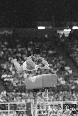 Los Angeles 1984 - Lou Yun, oro en salto