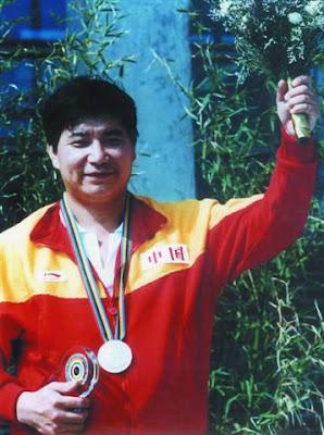 Barcelona 1992 - Wang Yifu, oro en pistola libre