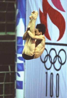 Atlanta 1996 -  Xiong Ni, campeón en saltos de trampolín
