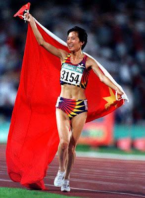 Atlanta 1996 - Wang Junxia, campeona en los 5.000 metros