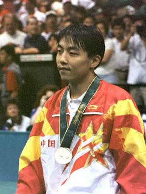Atlanta 1996 - Liu Guoliang, campeón individual en tenis de mesa