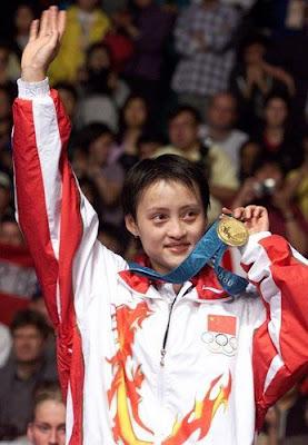 Sydney 2000 - Gong Zhichao, campeona individual en badminton