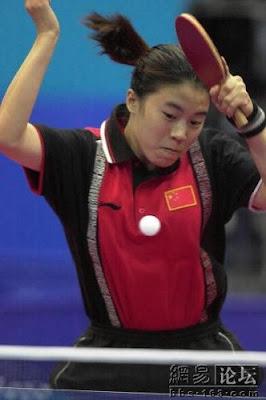 Sydney 2000 - Wang Nan, campeona individual en tenis de mesa