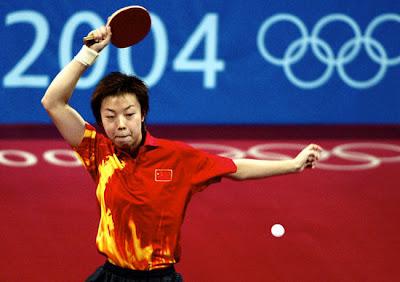 Atenas 2004 - Zhang Yining, campeona individual en tenis de mesa