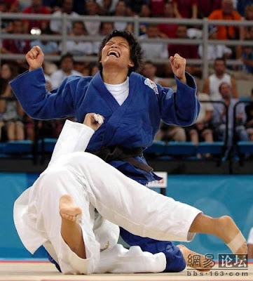Atenas 2004 - Xian Dongmei, campeona en judo (-52 kg)
