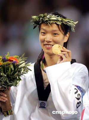 Atenas 2004 - Chen Zhong, campeona en taekwondo (+67 kg)