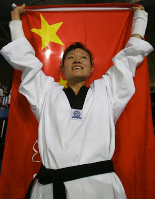 Atenas 2004 - Luo Wei, campeona en taekwondo (-67 kg)