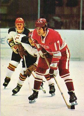Valeri Kharlamov en el Campeonato Mundial de Helsinki 1974