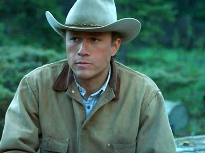 Heath Ledger en Brokeback Mountain (2005)