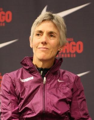Joan Benoit en 2008