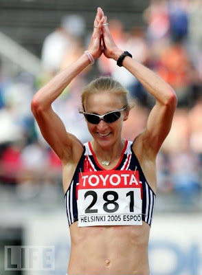Paula Radcliffe - Helsinki 2005