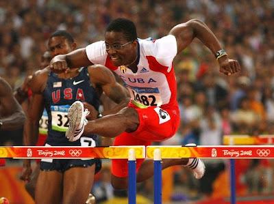 Dayron Robles, campeón olímpico de 110 metros vallas